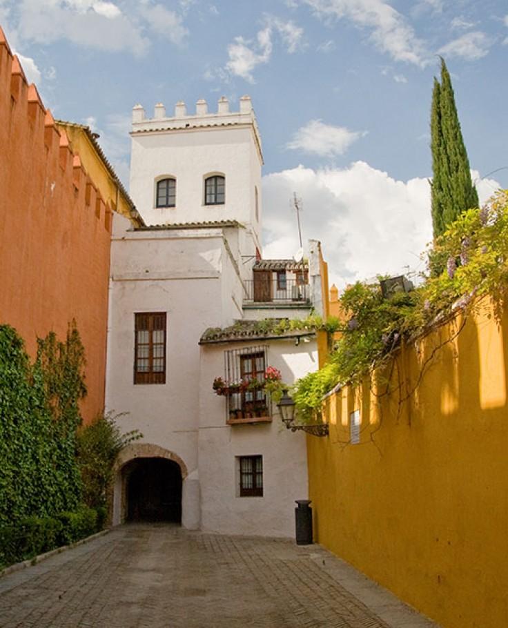 Fotografía del Barrio de Santa Cruz, Sevilla