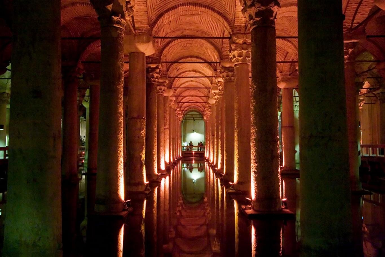 Fotografía de las Cisternas, Estambul