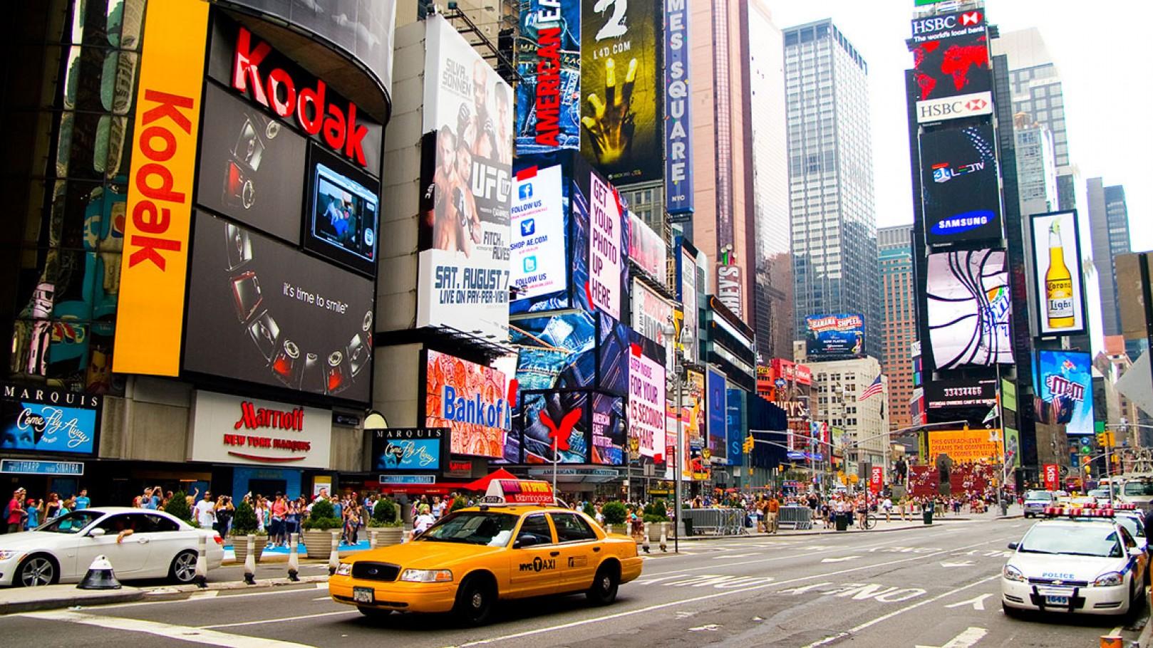 Fotografía de Times Square, Nueva york
