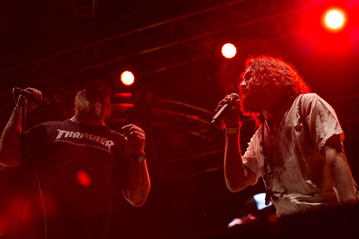 Andreas Lutz (O'funk'illo) y Astola (Delinqüentes)